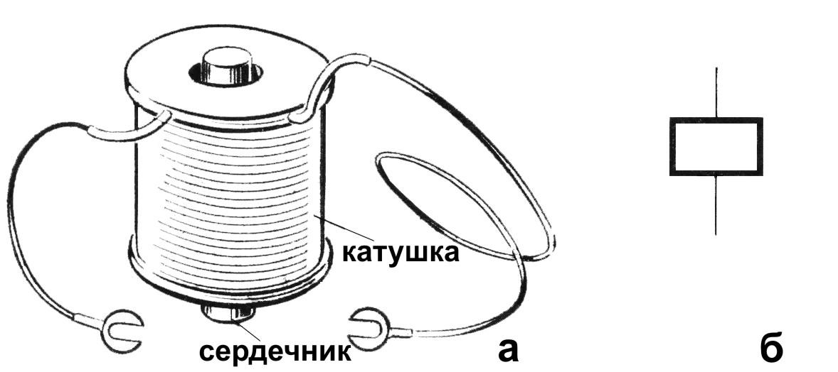 Электромагнит в схемах